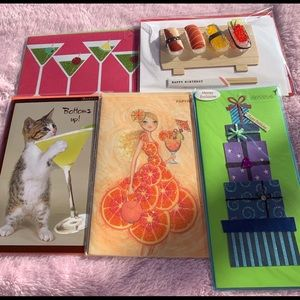 Set of 5 Gorgeous Birthday Cards by Papyrus